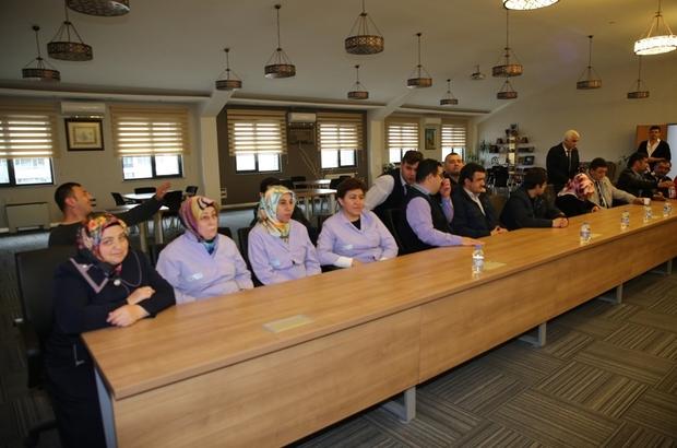 Özel güvenlik çalışanları yeni yasa hakkında bilgilendirildi