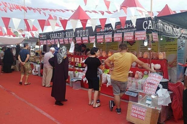 70 ilin yöresel ürünleri Atakum'da buluşuyor