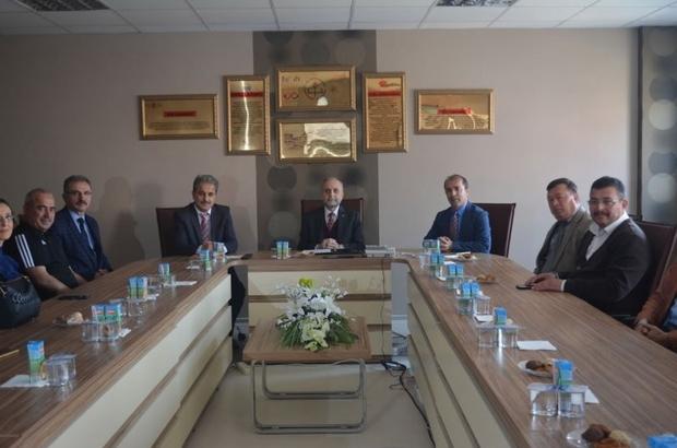 Bilecik İl Milli Eğitim Müdürü Erdoğan Osmaneli'yi ziyaret etti
