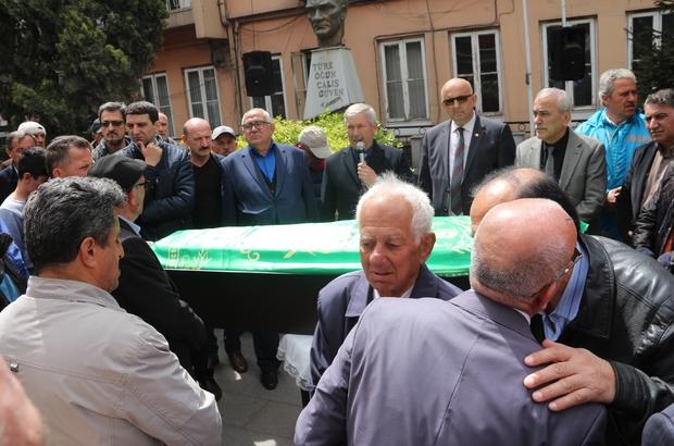 Hayatını kaybeden zabıta komiseri son yolculuğuna uğurlandı