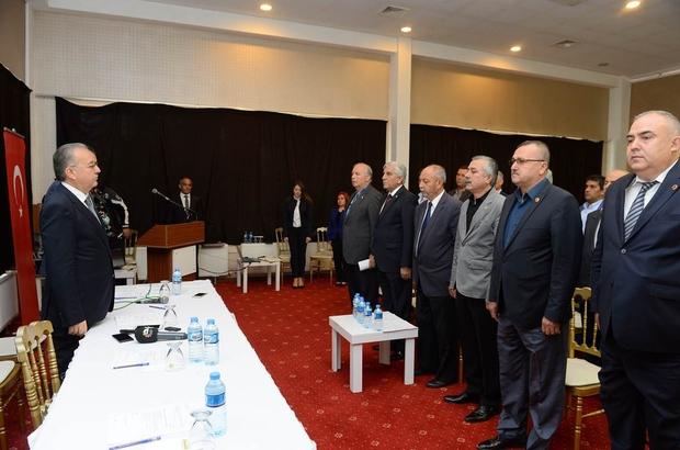 Köylere Hizmet Götürme Birliği toplantısı gerçekleştirildi