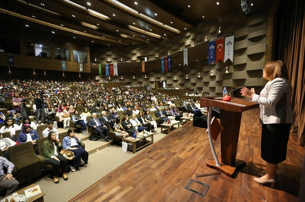 """Otizm dostu kent Gaziantep Gaziantep Büyükşehir Belediye Başkanı Fatma Şahin: """"Engelli engelsiz herkes birinci sınıf vatandaştır"""""""