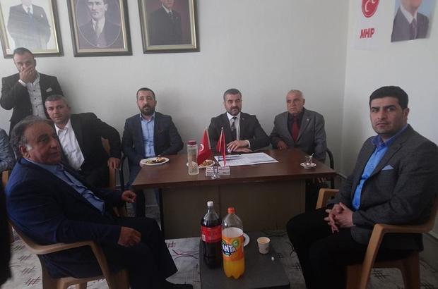 """Avşar erken seçim tartışmalarına değindi MHP Malatya İl Başkanı Ramazan Bülent Avşar: """"26 Ağustos 2018 önerimizdir"""""""