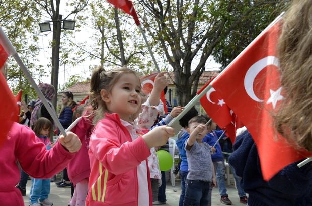 Çocukların gelişimine katkı devam ediyor 23 Nisan kutlamalarının değişmez adresi oldu