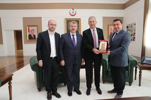 Başkan Bakıcı, Sağlık Bakanı Demircan ile görüştü Başkan Bakıcı'dan Ankara çıkartması