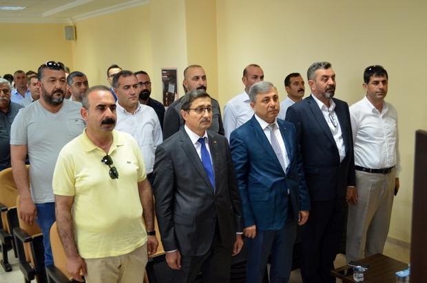 Didim Ticaret Odası'nda devir teslim yapıldı Eski başkan Üstündağ, yeni başkan Erbaş ve ekibini ağırladı.