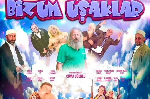 """""""Bizum Uşaklar"""" 27 Nisan'da vizyona girmeye hazırlanıyor 61 oyunculu Bizum Uşaklar filmi seyirciyle buluşmak için gün sayıyor"""