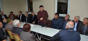 Vali Arslantaş, Yeşilçay Köyü'nde vatandaşlarla biraraya geldi
