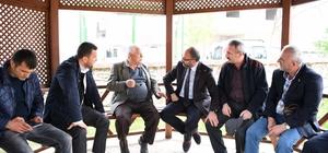 Başkan Üzülmez'den İbrikdere ve Uzuntarla'ya çıkarma