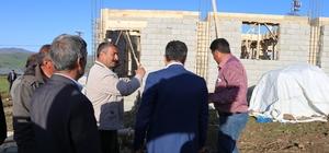 Varto'da devlet-vatandaş işbirliğiyle cami yapımı