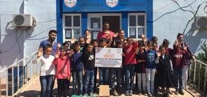 Nusaybin Belediyesi okullara bilgisayar dağıttı