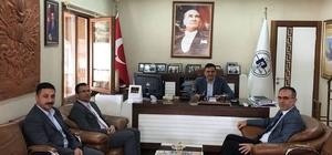 Başkan Yalçın'a ziyaretler devam ediyor
