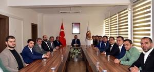 Vali Büyükakın, TSO ve TSO Meclis Başkanını makamında kabul etti