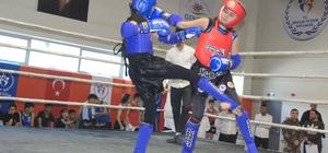 Hakkari'de 'Muay Thai İl Şampiyonası' düzenlendi