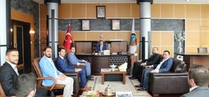 Milli Birlik ve Düşünce Derneği Başkan Alemdar'ı ziyaret etti