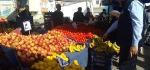 Darıca'nın pazarları denetleniyor