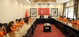 Başkan Palancıoğlu'ndan öğrencilere ders