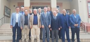 Esnaf odaları başkanlarından Taban'a ziyaret
