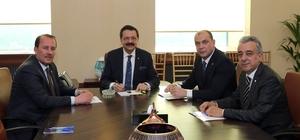 ESO Başkanı Kesikbaş ve yönetim kurulu TOBB'u ziyaret etti