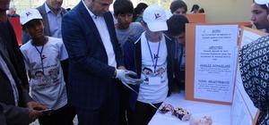 Göçeri Ortaokulunda TÜBİTAK Bilim Fuarı açıldı