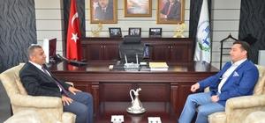 İl Müdürü Özcan'dan Başkan Bakıcı'ya ziyaret