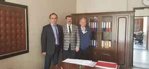 THK Başkanı Güner, Gökçebey'de çeşitli ziyaretler gerçekleştirdi