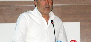 """Aybaba: """"Hakem olmayacak kişilere maç vermemek lazım"""" Demir Grup Sivasspor Teknik Direktörü Aybaba: """"Ligin en iyi kadrosu Beşiktaş'ta"""""""