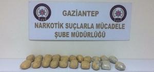 Gaziantep'te 10 kilo eroin ele geçirildi