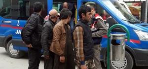 Mantar çiftliğinde 14 kaçak göçmen yakalandı