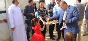 """Midyat'ta Ezidiler """"Kırmızı Çarşamba Bayramı""""nı kutladı"""