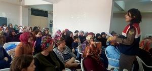 Jandarma ekiplerinden uyuşturucu semineri