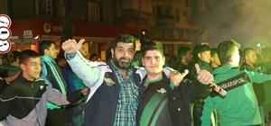 T.M. Akhisarspor, final heyecanını sokaklara taşıdı