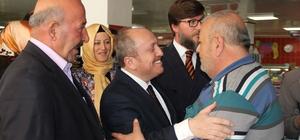 Cumhur ittifakı 24 Haziran seçimlerinin ilk startını verdi Danışma Meclisi toplantısı için Mecitözü ilçesine giden AK Parti Çorum İl Başkanı Mehmet Karadağ, MHP Mecitözü İlçe Başkanlığı'nı ziyaret etti MHP İlçe Başkanı Hüseyin Güneş ile AK Parti İl Başkanı Karadağ yaptıkları istişarenin ardından 24 Haziran seçimlerinin startını Mecitözü'nden verdi İlçedeki esnafları ziyaret eden Karadağ ve Güneş cumhur ittifakına destek istedi.