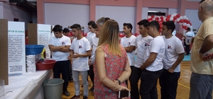 Sunar Nuri Çomu Anadolu Lisesi öğrencileri bilim fuarında