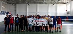 Acıgöl'de kurumlar arası voleybol turnuvası başladı
