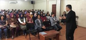 Sason'da sözleşmeli öğretmenlere seminer verildi