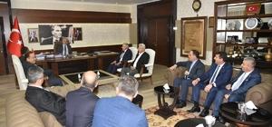 Aydın Ticaret Borsasının yeni meclisinden Vali Köşger'e ziyaret