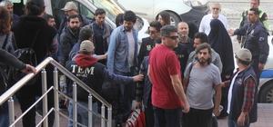 Kocaeli'de terör operasyonunda 17 kişi adliyeye sevk edildi
