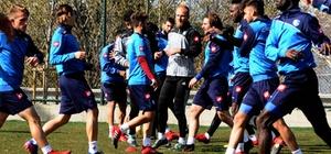 B.B. Erzurumspor, Adana Demirspor maçı hazırlıklarına sürdürüyor
