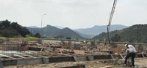 Osmaneli'nde inşaat çalışmaları devam ediyor