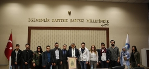 Belediye yabancı öğrencileri ağırladı