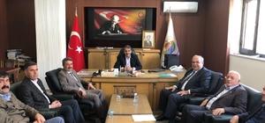 Başkan Kutlu il genel meclisi yönetimiyle bir araya geldi