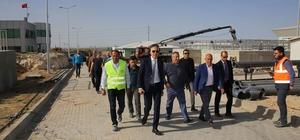 Başkan Çalışkan, içme suyu tesislerinde incelemede bulundu