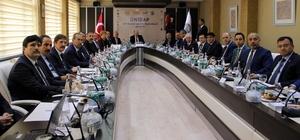 ÜNİDAP DAP Bölgesi Üniversiteler Birliği Çalıştayı Saraç başkanlığında yapıldı