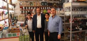 Başkan Toltar'ın esnaf ziyaretleri sürüyor
