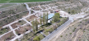 Evliyalar parkının yenileme çalışmaları sürüyor