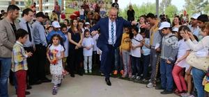 Çocuklar 23 Nisan'da Manisa'da çifte bayram yaşayacak