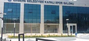 Ergeneliler, spor salonlarına kavuştu Ergene Belediyesi Kapalı Spor Salonu hizmet vermeye başladı