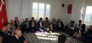Rektör Durmuş' tan Siirtli şehit ailelerine taziye ziyareti