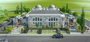Hamam yılsonuna tamam Başkan Togar, Osmanlı Hamamı inşaatında incelemelerde bulundu